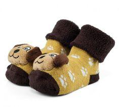Attractive chlapčenské ponožky so psíkom