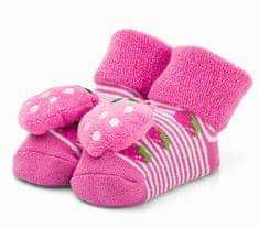 Attractive dievčenské ponožky s jahôdkou