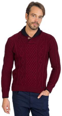 Sir Raymond Tailor moški pulover, M, rdeč