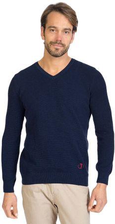 Sir Raymond Tailor moški pulover, M, temno moder