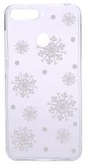 EPICO Rugalmas műanyag tok Honor 7A telefonra WHITE SNOWFLAKES