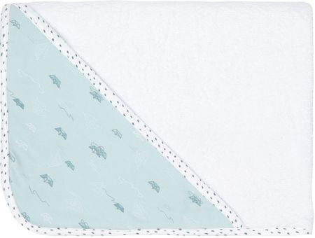 Luma Gyerek frottír törölköző kapucnival - Paper Boats