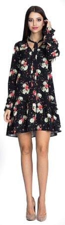 Figl ženska obleka, L/XL, črna