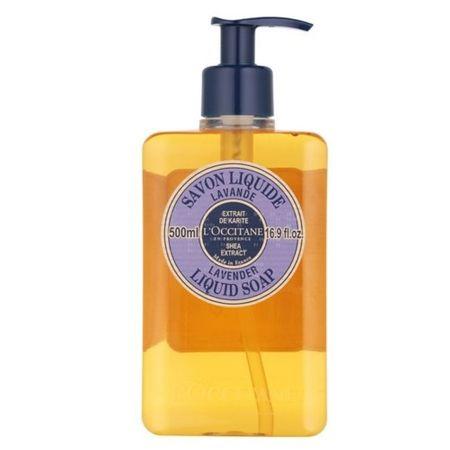 LOccitane En Provenc Folyékony szappan Shea Butter levendulával (Liquid Soap) 500 ml