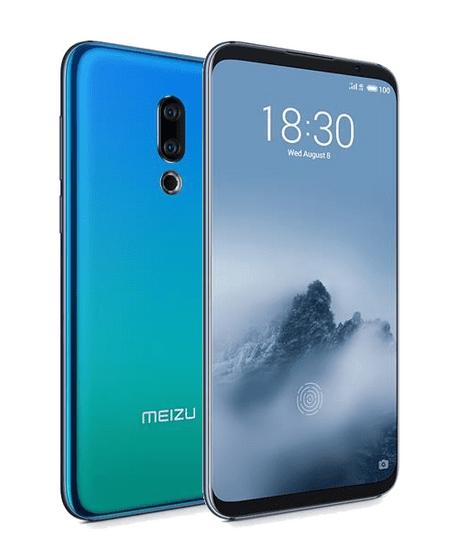 Meizu 16th, 8GB/128GB, modrý