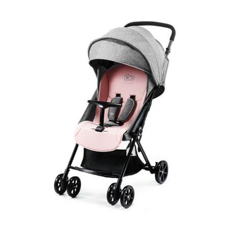 KinderKraft LITE UP otroški voziček pink, roza - Odprta embalaža