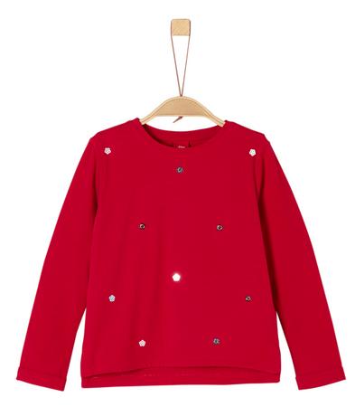s.Oliver dziewczęca koszulka, 92 - 98, czerwona