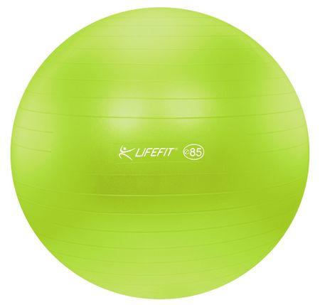 LIFEFIT gimnastična žoga Antiburst, 85 cm, zelena