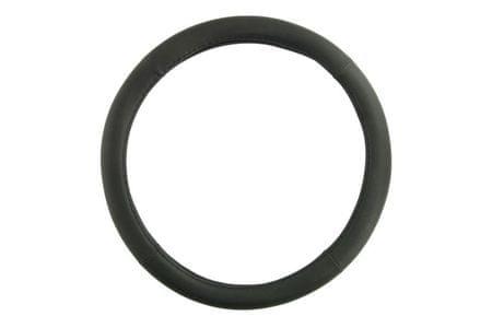 MAMMOOTH Poťah na volant, 100% PVC, 36,5 - 38 cm, čierny