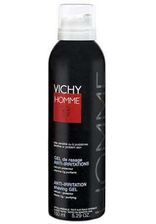 Vichy Borotválkozó gél érzékeny vagy problémás bőrre Anti-irritáció Borotválkozás Gel 150 ml