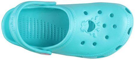 db5d49b72 Coqui Detské šľapky Big Frog 8101 Turquoise 101475 (Veľkosť 26-27 ...