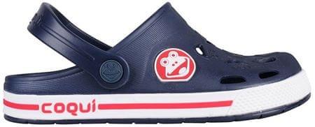 bf6885ace12f Coqui Detské papuče Froggy Navy   White 8801-100-2132 (Veľkosť 26-27 ...