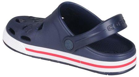 b1e3514f1b0e9 Coqui Detské papuče Froggy Navy / White 8801-100-2132 (Veľkosť 26-27 ...