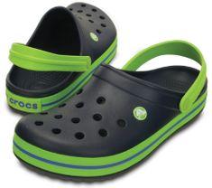 Crocs Gyermek cipő Crocband Klumpa Navy / Volt Zöld 204537-4K6