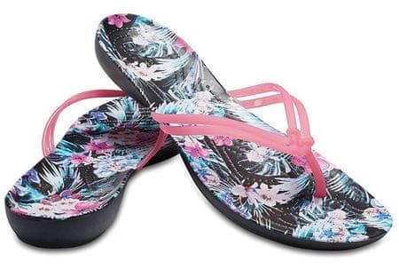 Crocs Hölgyeim Crocs Isabella Graphic Flip Paradise Pink / Trópusi virág 204196-6NT (méret 37-38)
