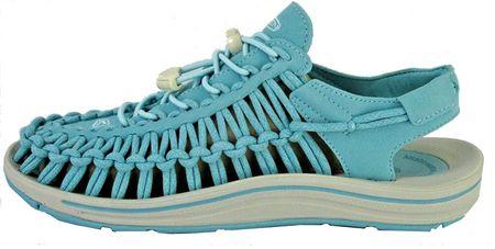 KEEN Sandały damskie Uneek Aqua morze / Pastel Turquoise (rozmiar 38)