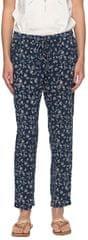 ROXY Spodnie Bimini Printed Pant Dress Blue s Beyond Way Mały ERJNP03157-BTK9