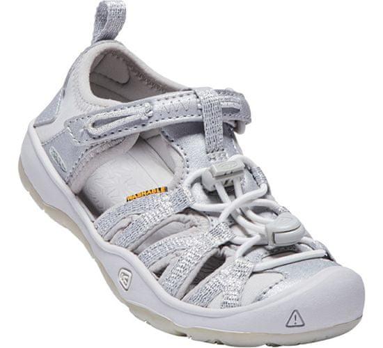 KEEN Dětské sandále Moxie Sandal Silver KIDS (Velikost 30)