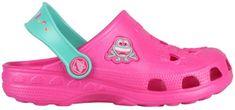 Coqui Little Frog Baby Shoes Lt. fuksja / Mint 8701-100-3644