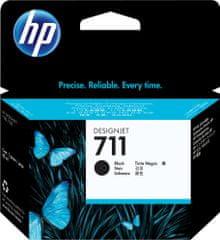 HP 711, černá (CZ133A)