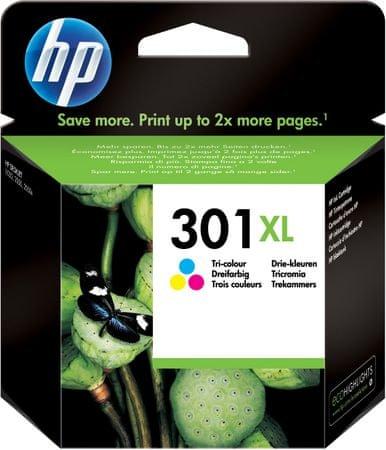 HP kartuša 301XL, barvna