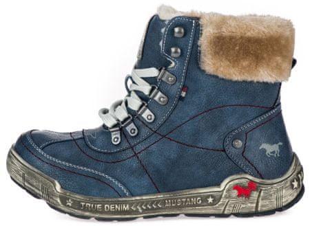 fae8910c433ea Značka: Mustang Náš kód: 1258840007. dámská kotníčková obuv 36 tmavo modrá  ...