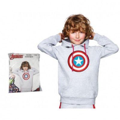 E plus M fiú pulóver Amerika kapitány 134 szürke