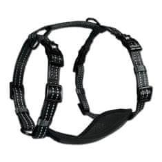 Alcott szelki odblaskowe dla psów, czarne