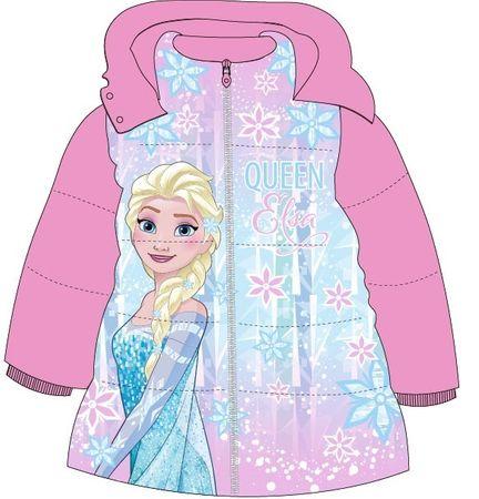 E plus M dívčí zimní bunda Frozen 98 růžová