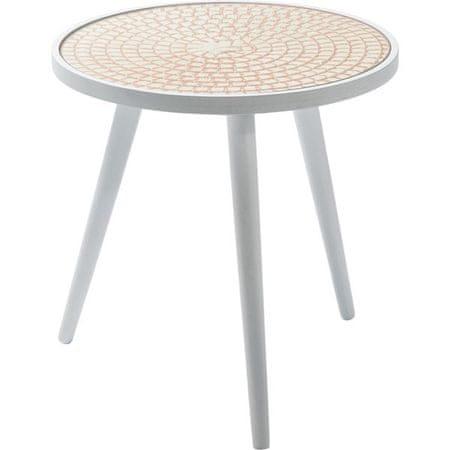 KARE Odkládací stolek Teatime 40 cm - oranžový