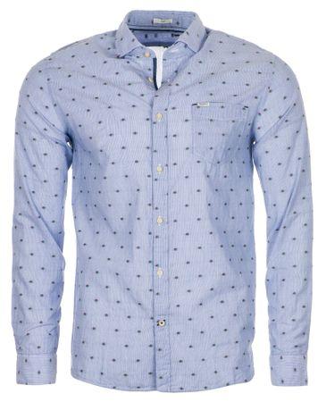 Pepe Jeans moška srajca Grayson, M, svetlo modra
