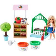 Mattel vrtnarka Barbie Chelsea Gardening, set