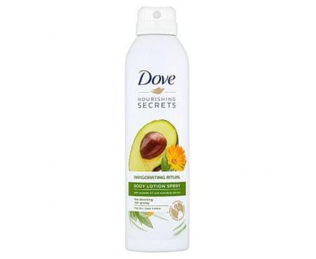 Dove Rytuał w sprayu do Tělo Invigo ( Body Lotion Spray) 190 ml