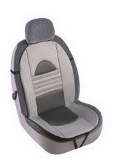 MAMMOOTH Poťah na sedadlo Pearl, predné sedadlá, farba šedá