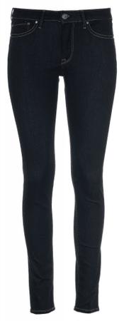 Pepe Jeans dámské jeansy Mia 26/30 tmavě modrá