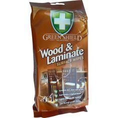 Greenshield upratovacie obrúsky na drevo a lamináty, 50 ks