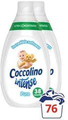 Coccolino omekšivač za rublje Intense, Pure, 2 x 570 ml