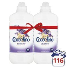 Coccolino omekšivač za pranje Simplicity, Lavender, 2 x 1,45 l