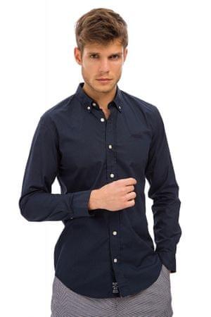 Galvanni pánská košile Ars XL tmavo modrá