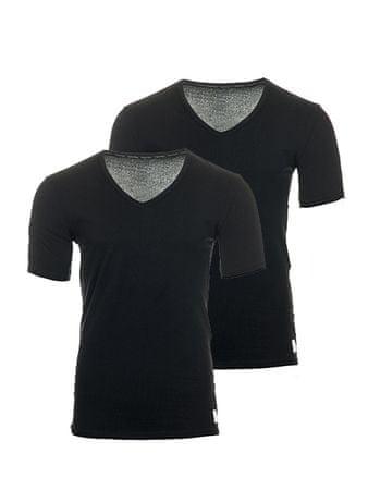 Calvin Klein komplet moških majic, 2 kosa, S, črna