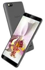 Gigaset GS100 - 1GB/8GB, Dual SIM, šedý