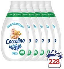 Coccolino omekšivač za rublje Intense, Pure, 6 x 570 ml