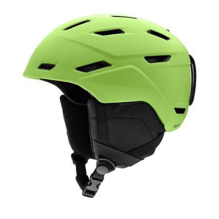 Smith smučarska čelada Mission, zelena, 59-63cm