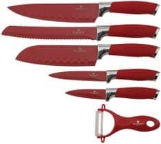 Blaumann Sada nožů s nepřilnavým povrchem 6 ks Red Chef Line