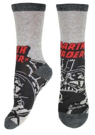 E plus M chlapecké ponožky Star Wars 23 - 26 sivá/čierna