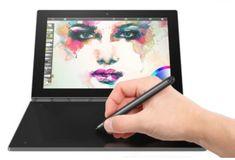 Lenovo tablični računalnik Yoga Book x5-Z8550/4GB/64GB/10,1FHD/W10P, črn (ZA150074HR) - Odprta embalaža
