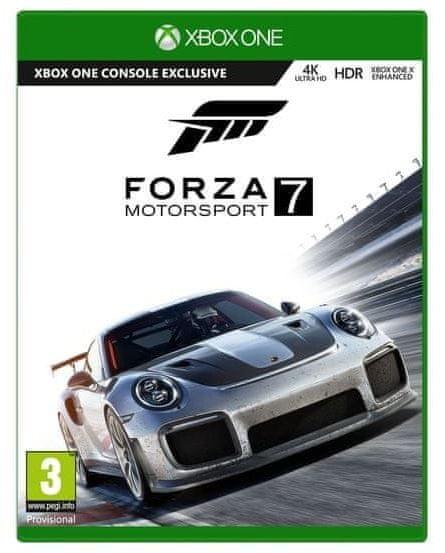 Igrača konzola Xbox One X 1 TB + Forza Horizon 4 + Forza Motorsport 7