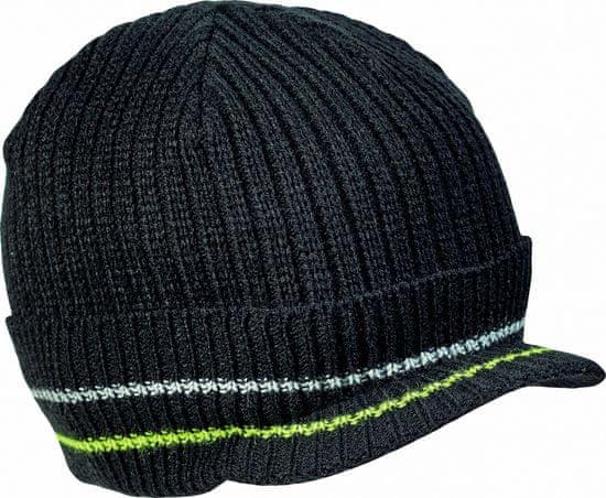 Cerva KNOXFIELD čepice černá/žlutá XL/XXL