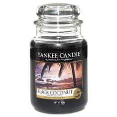 Yankee Candle Classic nagy - Fekete kókusz, 623 g
