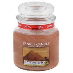 Yankee Candle Classic střední - Egyptské pižmo, 410 g